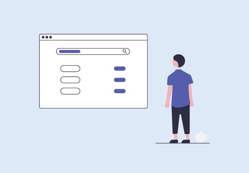 「【Rails】ransackを用いて検索機能を実装する方法」のアイキャッチ画像